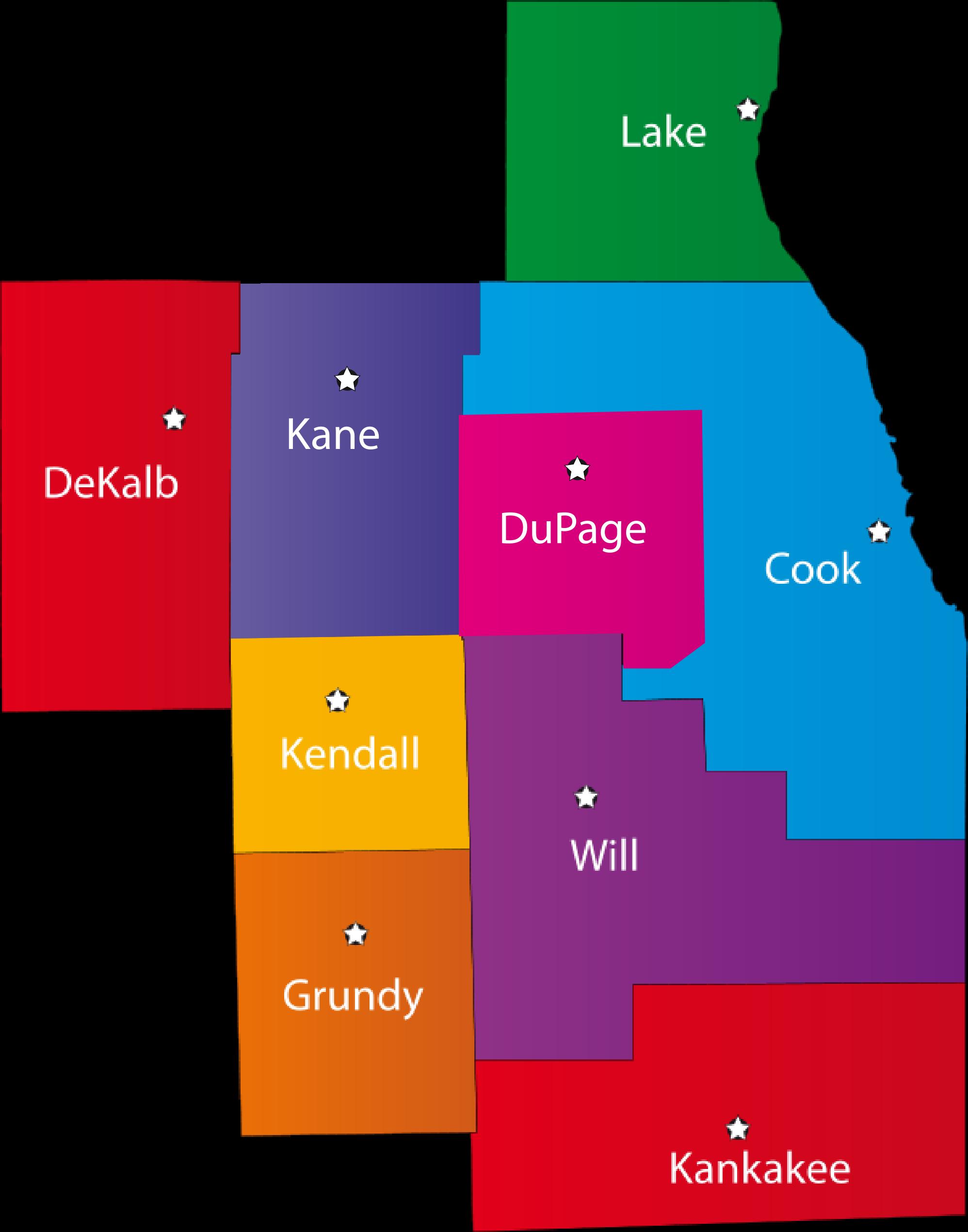 Illinois counties